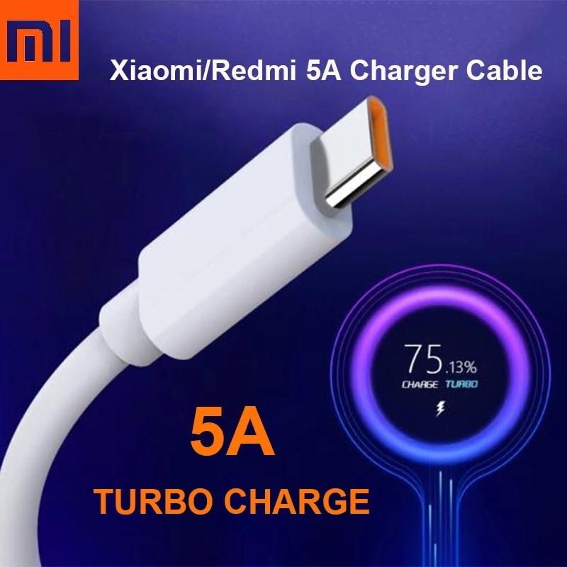 Original Xiaomi 5A Turbo cargador de Cable de carga rápida de tipo...
