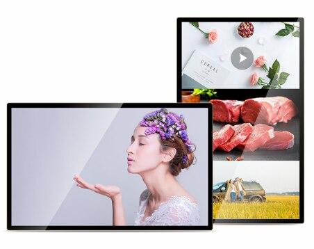 شاشة عرض lcd تعمل باللمس مقاس 21.5 بوصة ، 23.6 بوصة ، 23.8 بوصة ، 32 بوصة ، مناظر طبيعية مثبتة على الحائط