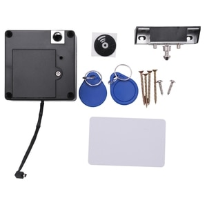 13.56MHz IC Card Cabinet Lock Electric Cabinet Lock Invisible Cabinet Drawer Lock Locker