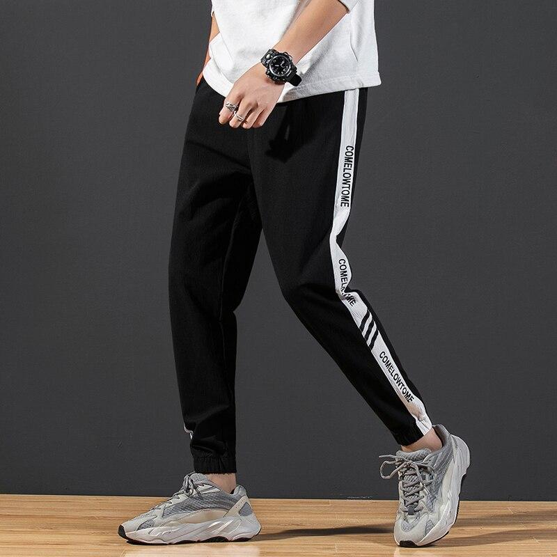 Мужские спортивные штаны 2021 штаны-шаровары повседневные штаны с эластичной резинкой на талии для девочек модные штаны уличная Джоггеры муж...