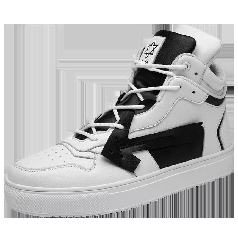 Tide brand high-top shoes fashion hip-hop board shoes men's shoes 39-44 2021