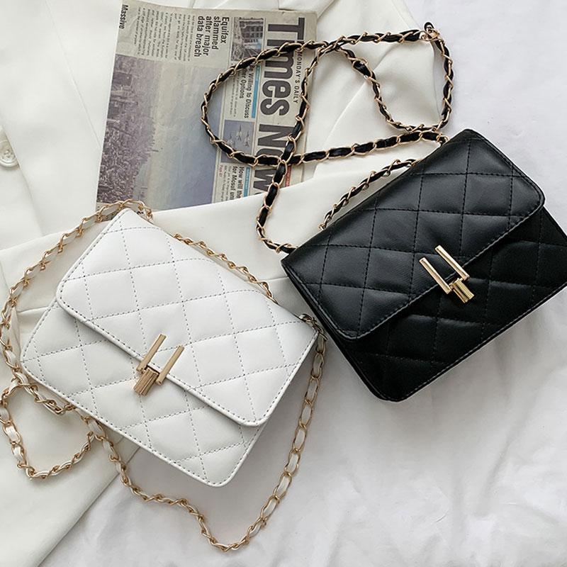 Chain Strap Handbags For Women Soft Leather Female Shoulder Bag Crossbody Bag Lady Messenger Bags And Designer Luxury Purse