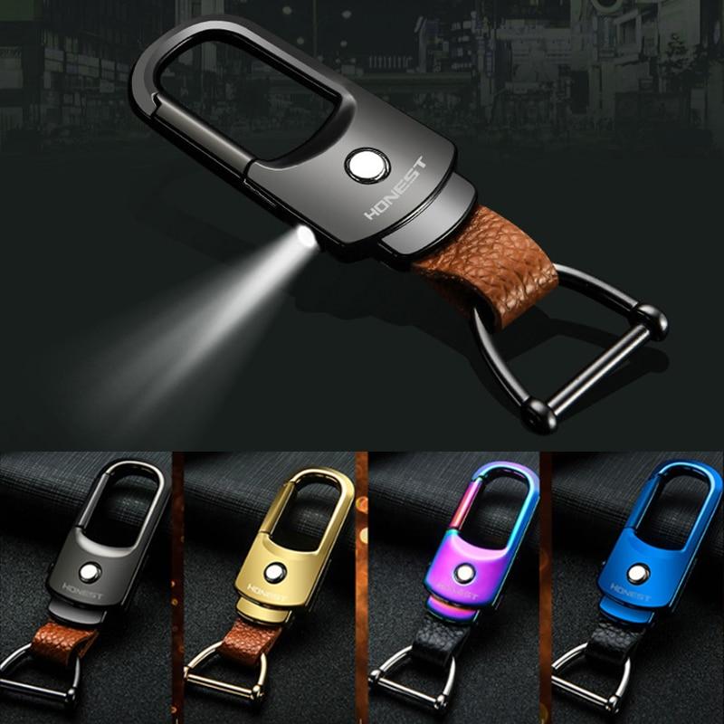 LLavero de coche llavero con LED llavero con Luz Accesorios para Toyota Chevrolet cruze LAND ROVER Jeep Jaguar llaveros