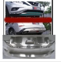 stainless steel front rear bumper fender trim cover for nissan murano 2015 2016 2017 2018 accessories