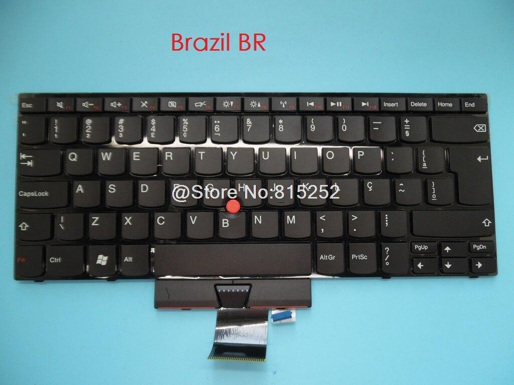 Clavier pour Lenovo pour Thinkpad E420 E420S S420 E425 E320 E325 anglais US italie IT Latin LA japonaise JP brésil BR HU allemagne GR