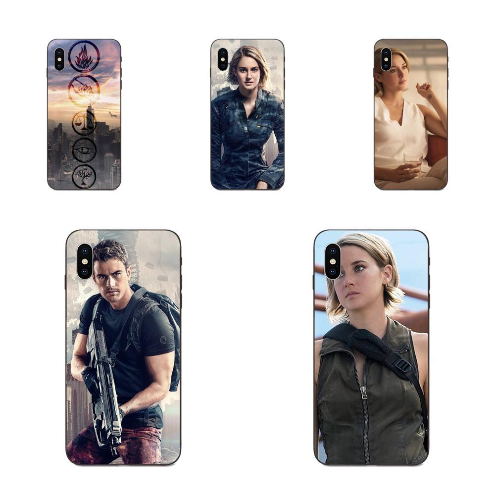 La serie divergente Allegiant para Apple iPhone 11 X XS X Max XR Pro Max 4 4S 5 5S SE 6 6S 7 8 Plus TPU suave elegante caso