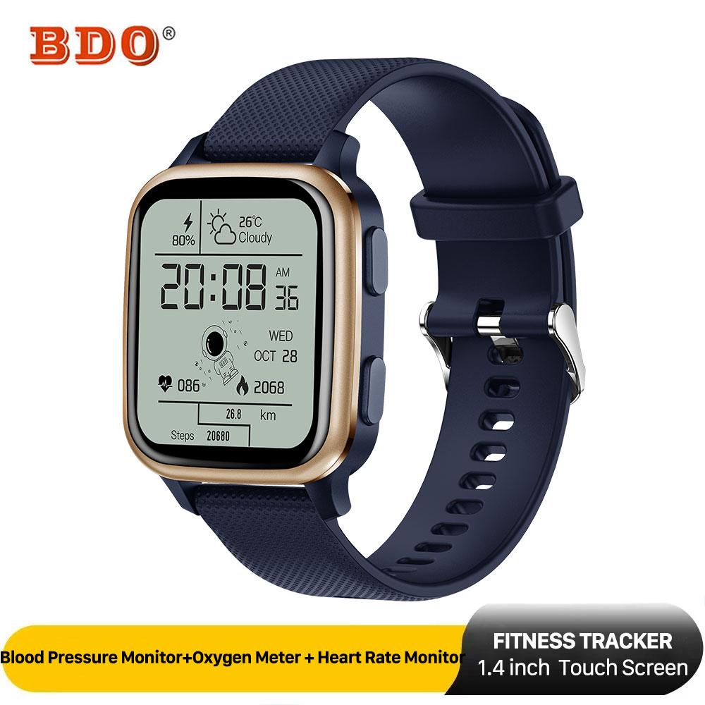 ساعة ذكية الرجال النساء اللياقة البدنية تعقب ضغط الدم رصد معدل ضربات القلب رصد IP68 مقاوم للماء Smartwatch آيفون سامسونج
