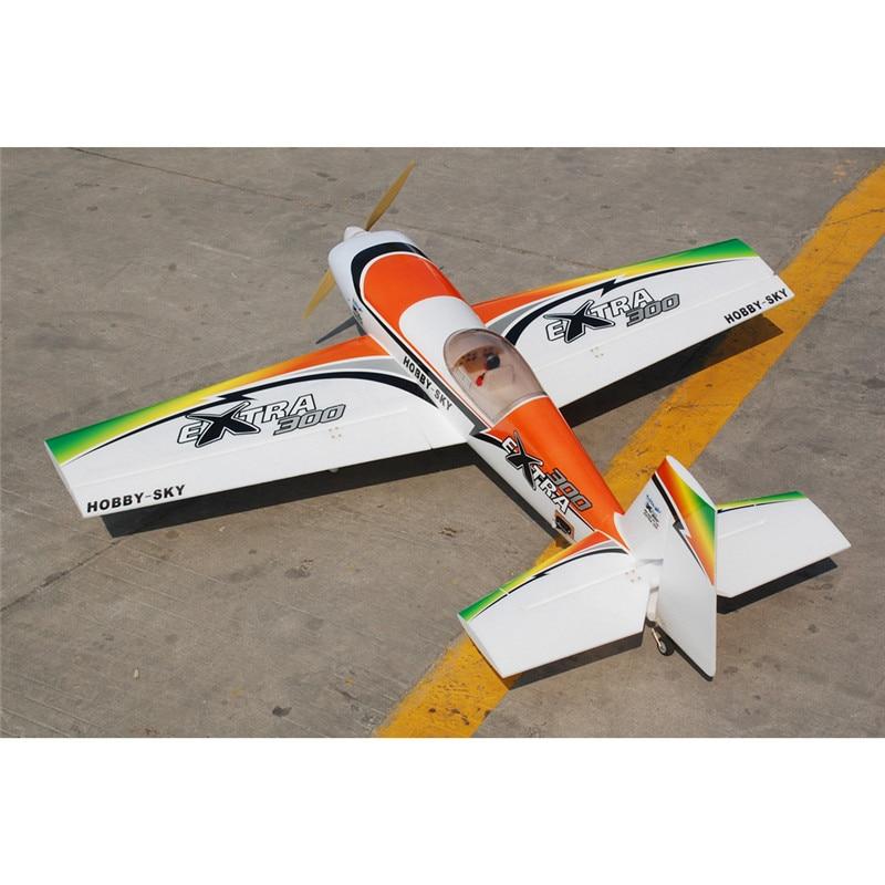 Hookll EXTRA 300-C EPO 1200mm Wingspan 3D Aerobatic Aircraft Stunt Plane RC Airplane KIT/PNP RC Toys