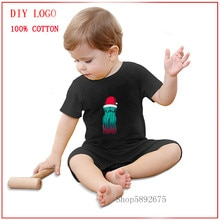 2020 new romper Baby High Quality unique Cosmic Santa Cthulhu Casual funny Unisex Baby Clothes cute