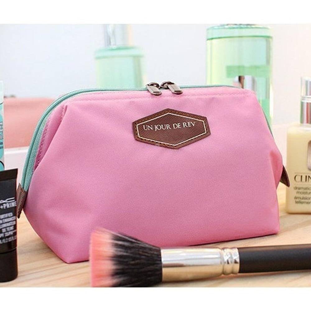 Zipper New Women Makeup bag Cosmetic bag Case Make Up Organizer Toiletry Storage Multifunction Travel Handbag Wash pouch hanging travel cosmetic bag women zipper make up bags oxford high capacity makeup case handbag organizer storage wash bag