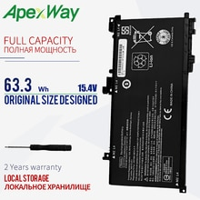 Apexway batterie dordinateur portable 15.4V TE04XL pour HP OMEN 15-AX batterie HSTNN-DB7T 905175-2C1 pour HP OMEN/pavillon 15 TPN-Q173