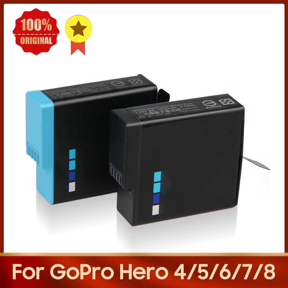 Original Camera Battery 335-06532-000 SPJB1B 601-10197-000 For GoPro Hero 8/7/6/5/4 Hero 8 Hero 7 Hero 6 Hero 5 Hero 4 AHDBT-401