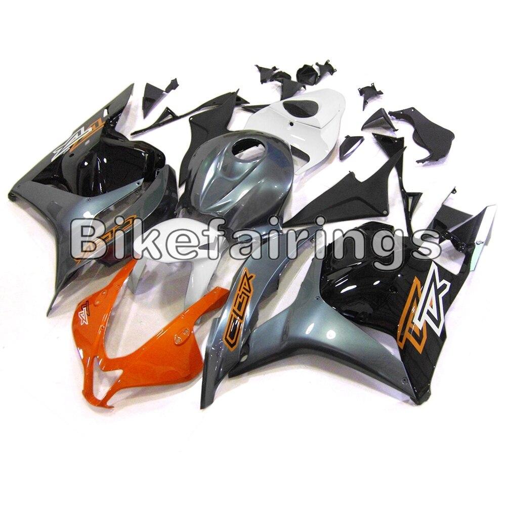 Оранжевые серебристые и черные Обтекатели для Honda CBR600RR F5 2009 2010 2011 строительный