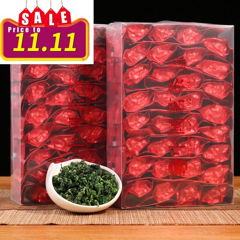 الشاي الصيني Anxi Tiekuanyin ، الشاي الأخضر الطازج ، Oolong ، لتخفيف الوزن ، beautytherosclerus ، الوقاية من السرطان ، الطعام