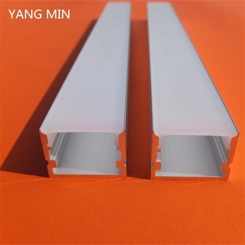 YANGMIN Free Shipping 2M/PCS High Quality Square Aluminum LED Profile/LED Strip Aluminum Channel enlarge