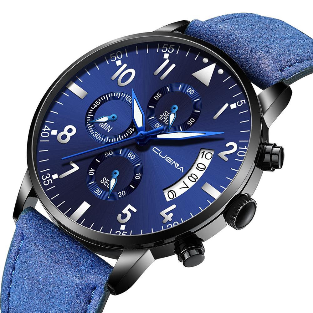 2019 relojes ultradelgados para hombre, reloj deportivo militar de lujo, reloj analógico deportivo de cuero, relojes de cuarzo para hombre, reloj masculino Fi