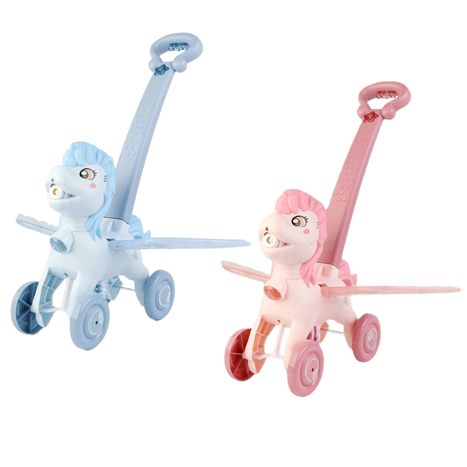 Kids Bubble Blowing Push Toy Outdoor Electric Bubble Automatic Blowing Machine Children Hand Push Cute Animal Bubbles Maker Toy electric blowing bubble stick toy automatic magic stick bubble machine children blowing bubble outdoor toy