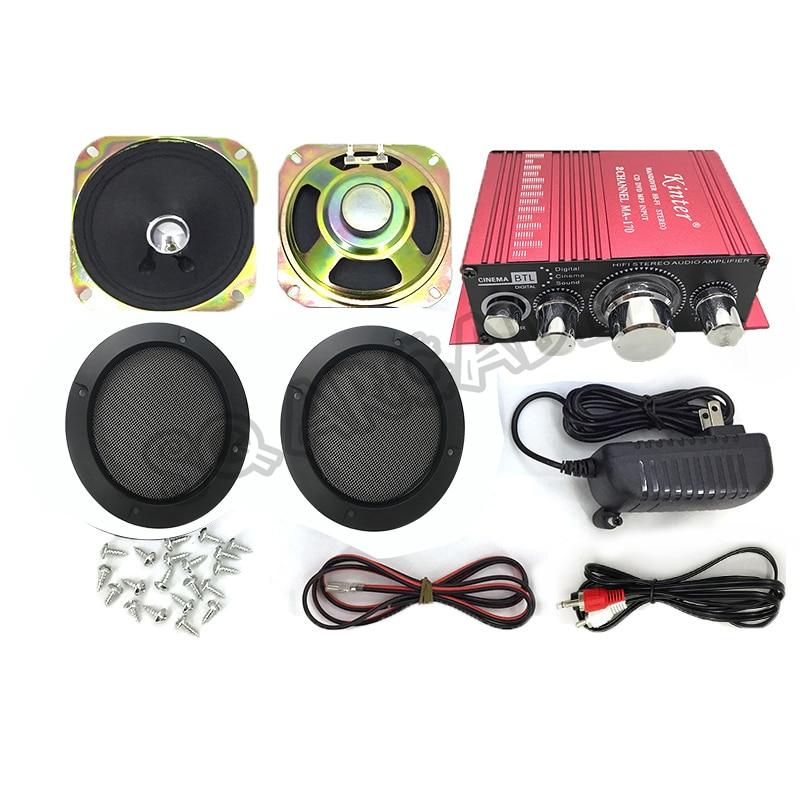 مجموعة صوت أركيد MA-170 ، مضخم صوت استريو 12 فولت ، ملحقات HIFI Arcade تعمل بقطع النقود المعدنية ، خزانة ألعاب MAME ، DVD ، مشغل MP3 والكمبيوتر الشخصي