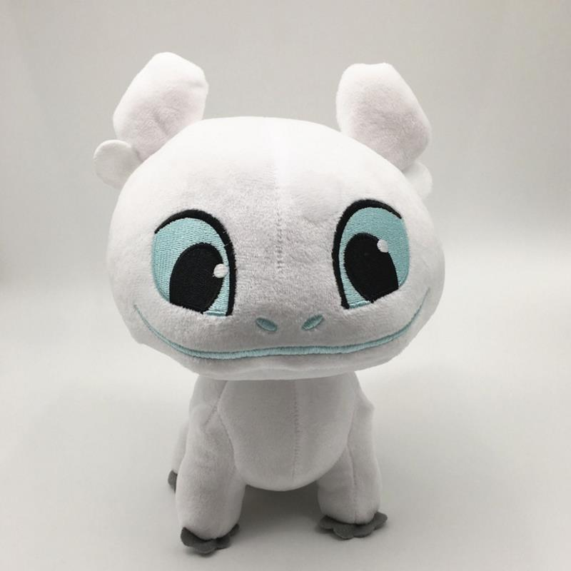 1 Pcs Leuke 13Cm Hoe Train Your Dragon Pluchen Speelgoed Tandeloze Licht Fury/Night Gevulde Doll Voor kids Pluche Speelgoed Gift