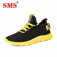 sma 2020 new men shoes vulcanize running shoes sneakers breathable casual shoes no slip male lace up male lightweight shoes
