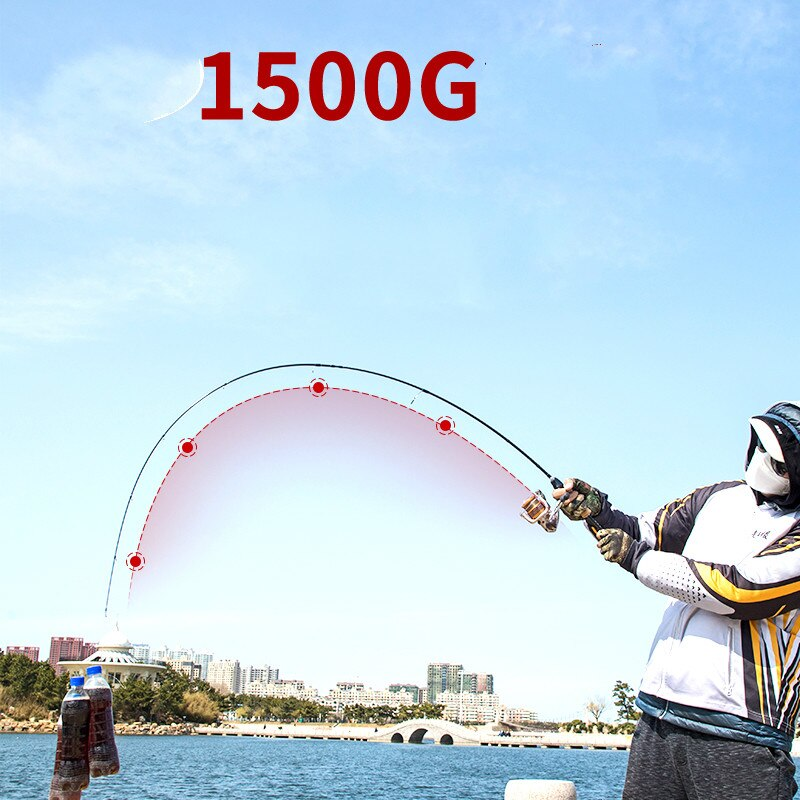 1.68M 1.8M Lure Rod L/UL Power Spinning Casting Olta Carbon Fiber Distance Throwing Pole Lure Weight 2-10g Fishing Tackle enlarge