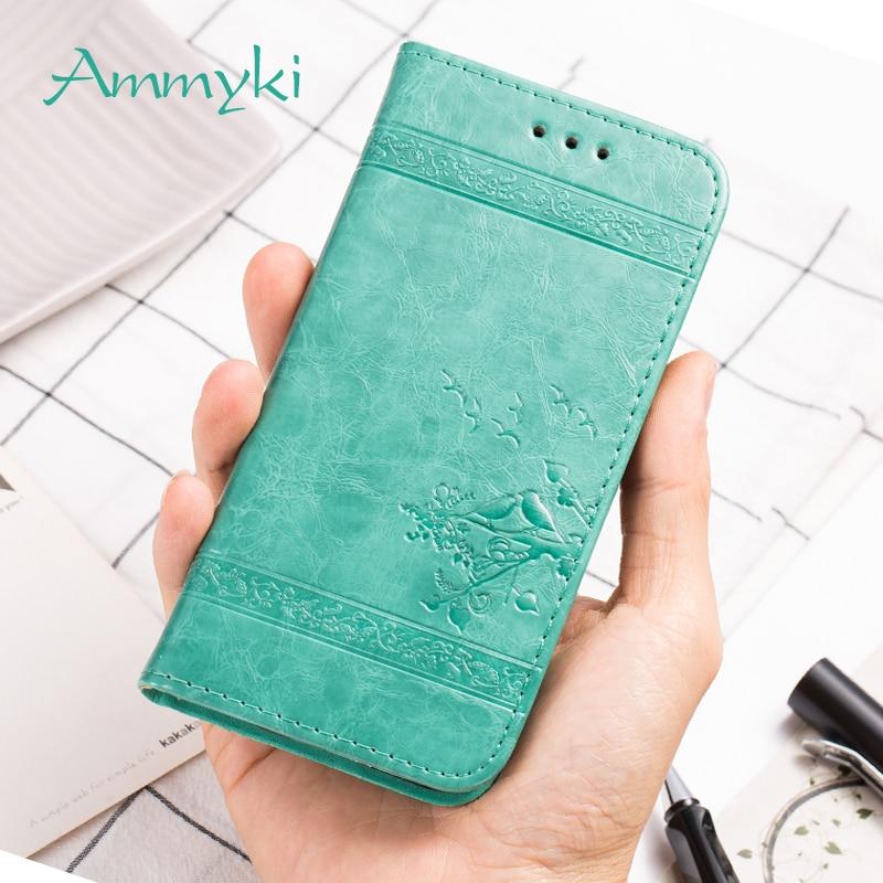 AMMYKI Lenovo vibe p1m funda de alta calidad inodoro visión 3D buena Tapa de cuero Pu funda trasera de teléfono 5,0 para Lenovo vibe p1m