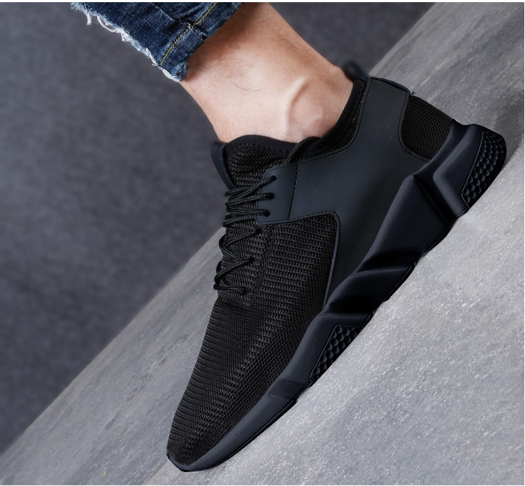 Fashion Brand Sneakers Men Shoes Split Leather Casual Shoes Breathable Men Sneakers Basket High Top