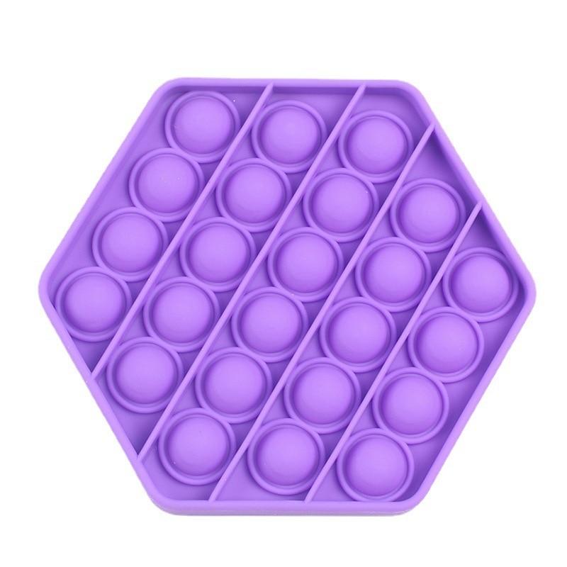 Pop It Fidget Push Bubble Toys For Children Anti Stress Reliever Autism Toys Adult Kids Reliver Stress Funny Fidget Desktop Game enlarge