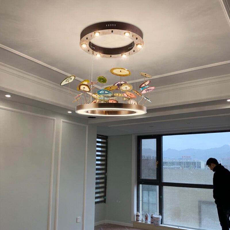 lyustra lampachina moderna sala de jantar ferro pingente luz sala estar quarto sala