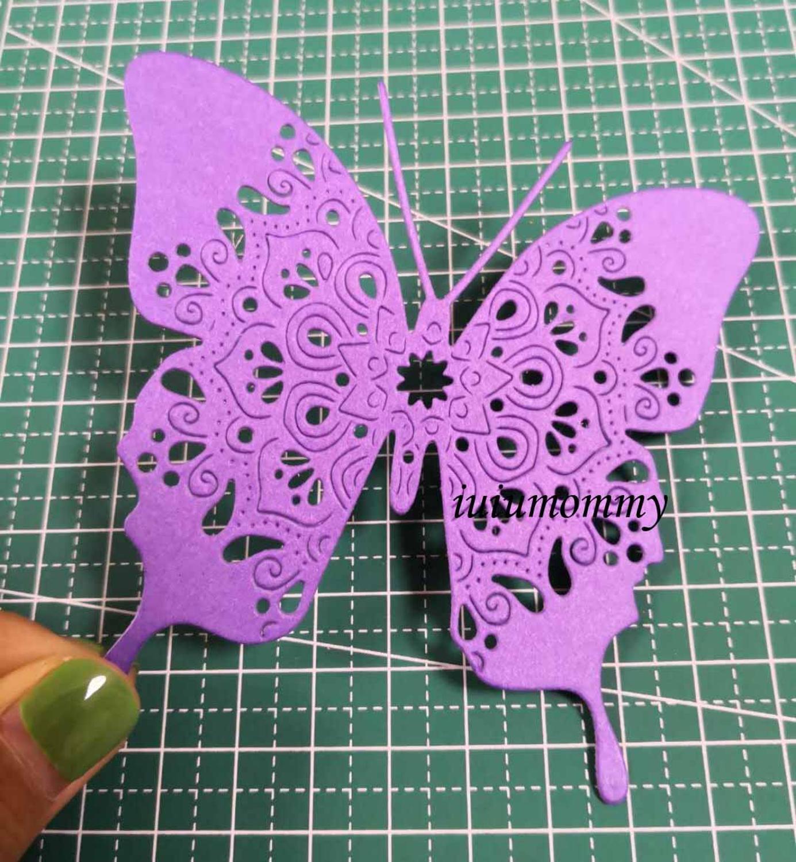 Бабочка Скрапбукинг штампы металла nouveau arrivage 2020 Бесплатная доставка резки штампов рамка