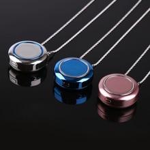 Purificateur dair USB Portable Portable collier négatif ioniseur Anion purificateur dair personnel Portable collier