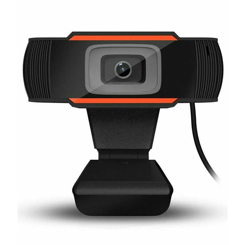 Rotatable HD Webcam Mini USB 2.0 Web Camera Video Recording High Definition With Mic Support MSN Skype Computer Peripheral
