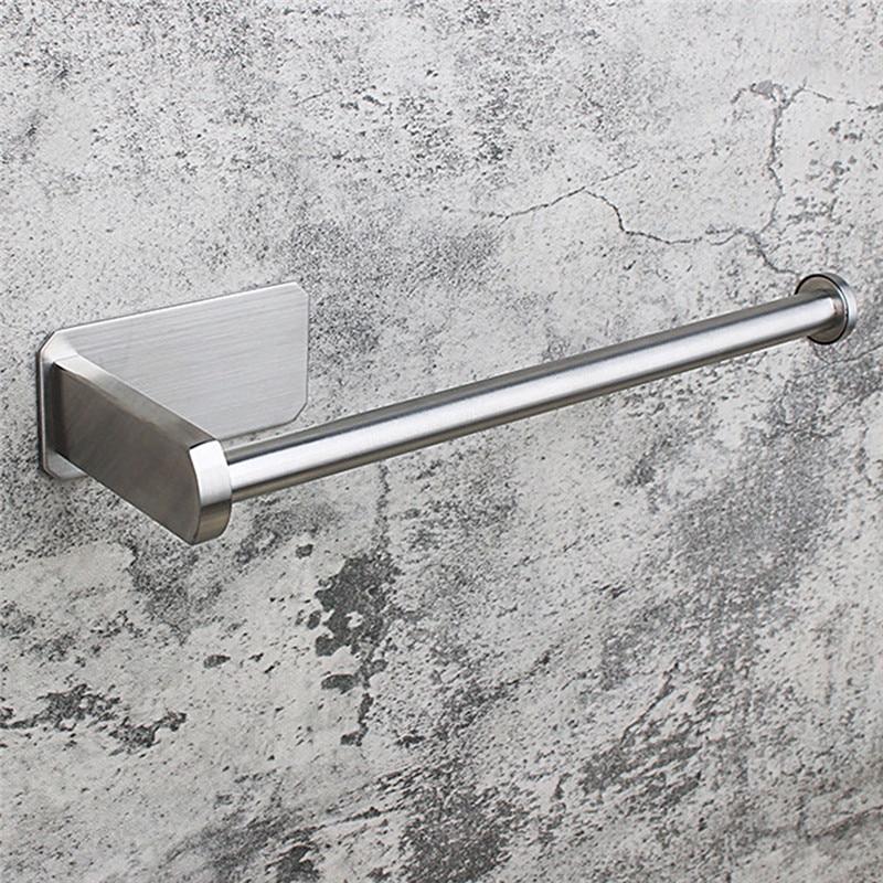 AliExpress - Paper Towel Rack Straight Brushed Stainless Steel Paper Towel Rack Kitchen Bathroom Towel Rack Bathroom Storage Rack