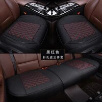 pu leather seat cover cars interior automobiles seats covers cushion universal protector seat leather mats auto pad accessories