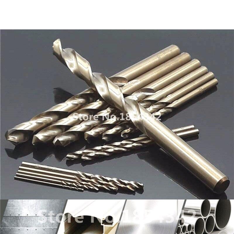 1 мм-10 мм Кобальт высокоскоростное стальное сверлильное отверстие M35 набор инструментов из нержавеющей стали инструменты для перемотки металла