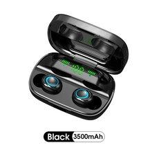 1 paar S11 Drahtlose Kopfhörer Sport In-ear-Headset Stereo-freisprecheinrichtung Noise Cancelling Kopfhörer Lade Box