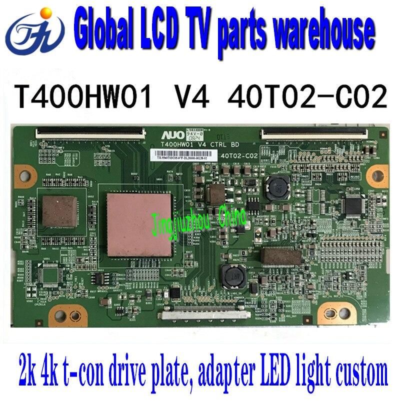 Original Haier l40r1 t400hw01 V4 40t02-c02 logic board Guanjie AOCT con