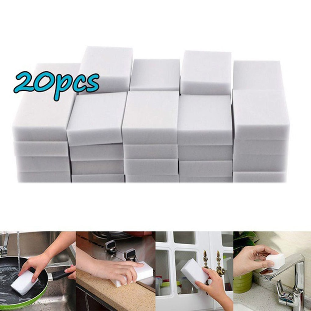 100*60*20mm Melamine Sponge Sponge Eraser Melamine Sponge Cleaner Cleaning Sponge for Kitchen Bathroom Cleaning Tools