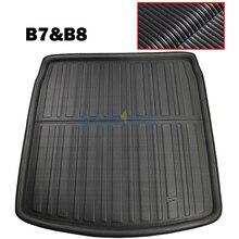 Arrière doublure de coffre tapis de sol plateau protecteur pour AUDI A4 S4 RS4 B7 B8 berline 2005-2016 2008 2009 2010 2011 2012 2013 2014