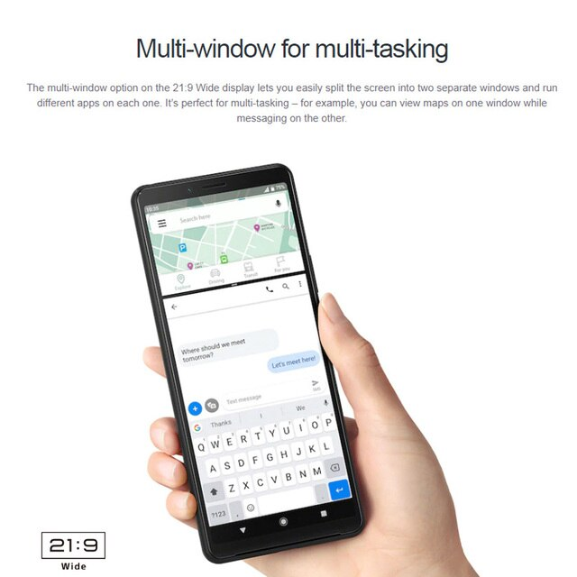 2020 Original Sony Xperia 10 II 4G Mobile Phone 6.0 8