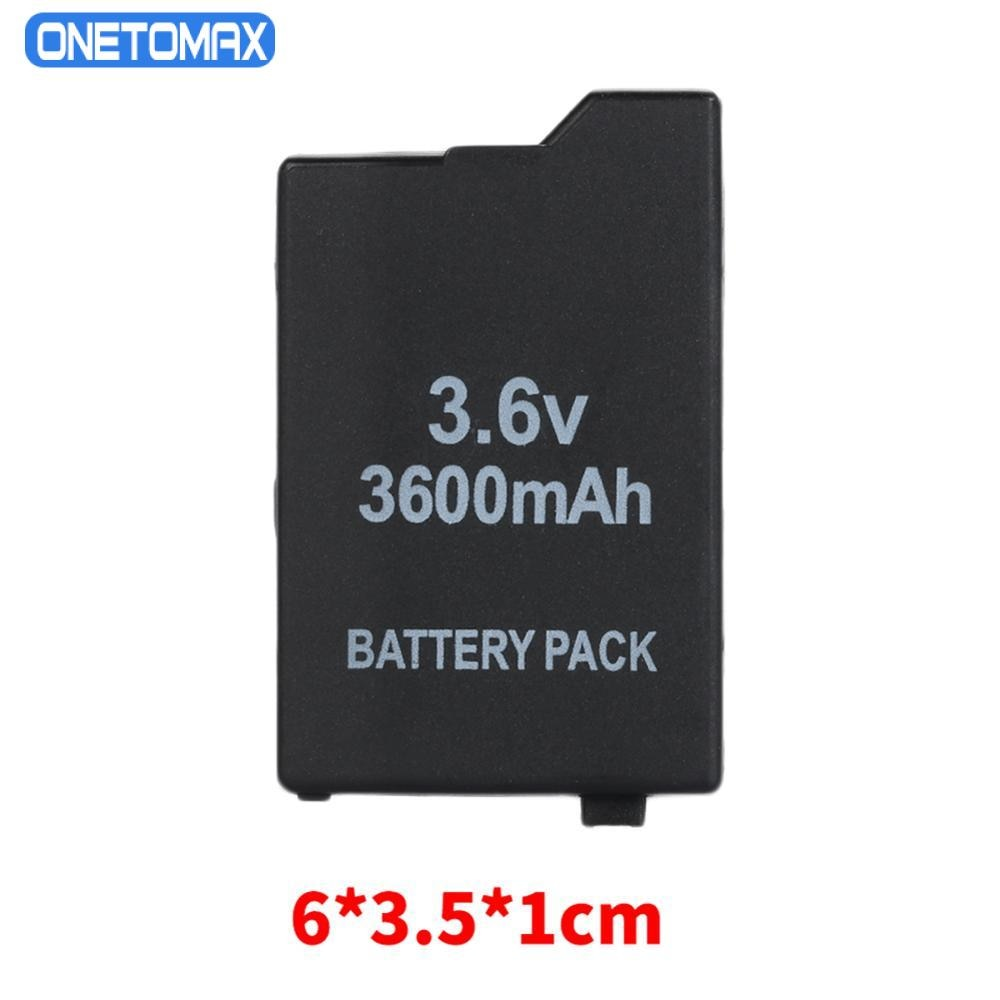 3600mAh 3.6V Lithium Ion Rechargeable Battery Pack Replacement for Sony PSP 2000/3000 PSP-S110 Console For Sony PSP2000 PSP3000 4pcs 3 6v 2400mah psp 2000 batteries for sony psp2000 psp3000 console