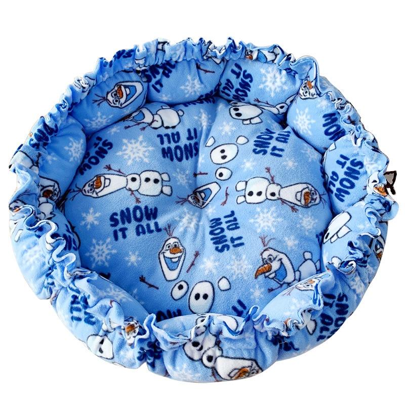 Saco de dormir para cama de gato, camas ajustables para perro mascota, tela polar autocalentable, suave, cálido y acogedor cojín alfombrilla para cachorros de gatito