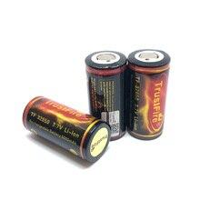 En gros haute qualité TrustFire 32650 6000mah 3.7V Li-ion batterie Rechargeable Batteries au Lithium avec carte de circuit imprimé protégée