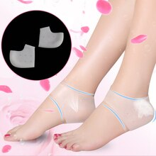 Silicone heel inserts Shoes Accessories Heel Protector for bad sore Moisturizing Anti-cracking Socks