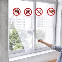 anti mosquito net window screen curtain mosquito netting door indoor insect fly mosquito for kitchen window home protector