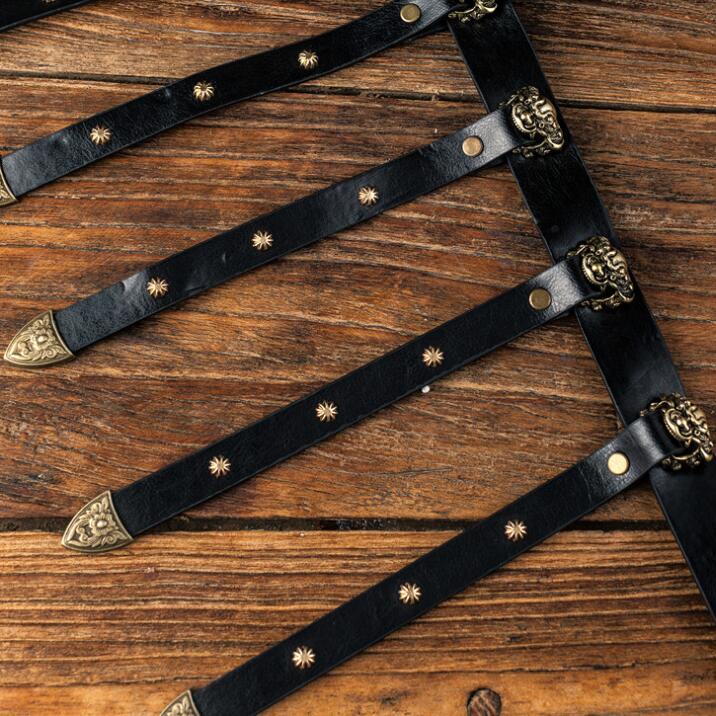 Hanfu belt Six Doors of Ming Dynasty waistbelt