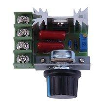 Bonne qualité 2000W AC 220V SCR régulateur de tension électronique régulateur de vitesse gradateur Thermostat Module