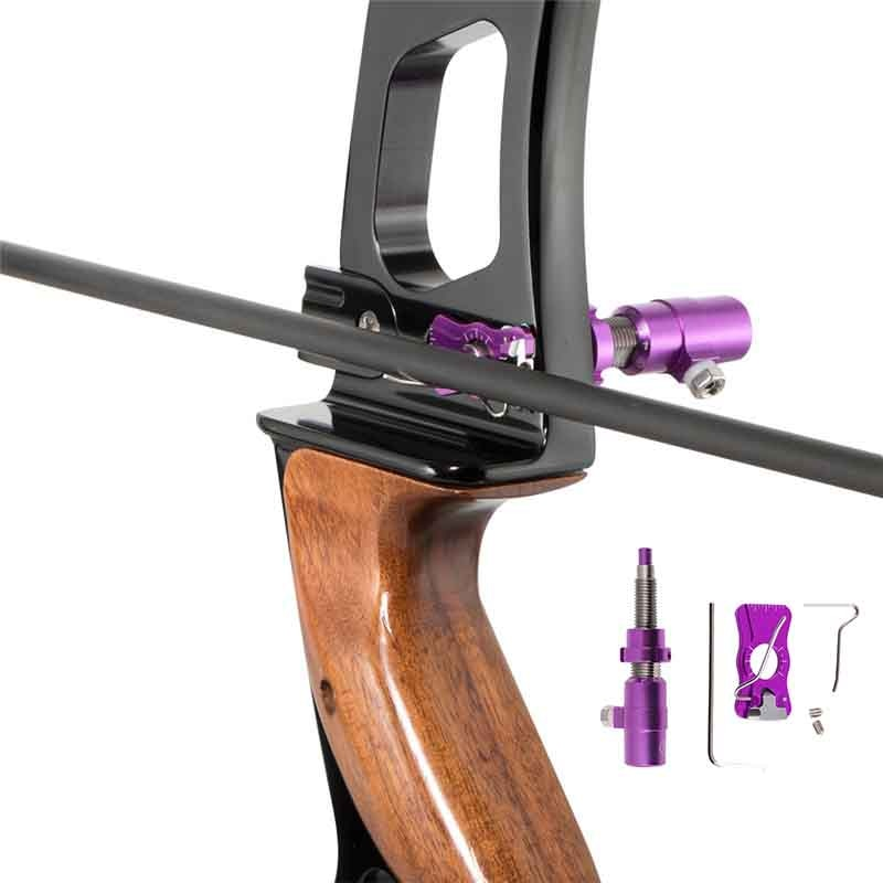 Accesorios de acero inoxidable mano derecha blanco de disparo para caza