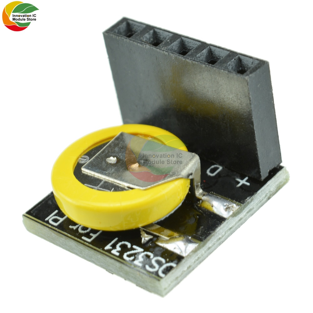 Ziqqucu DS3231SN DS3231 High Precision RTC Real Time Clock Socket Module 3.3V/5V for Arduino Raspberry Pi high precision ds3231 clock module at24c32 iic rtc real time memory module for arduino raspberry pi avr arm