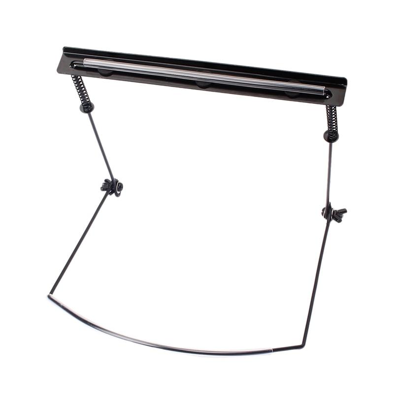 Soporte profesional novedoso para cuello de armónica ajustable adecuado soporte de montaje en Rack de 24 orificios